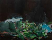 wet grass by Hollis Heichemer contemporary artwork painting