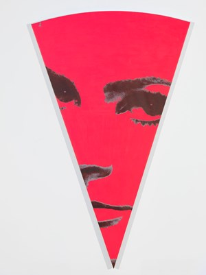 To Be Titled (Pink Pie Slice) by Richard Phillips contemporary artwork