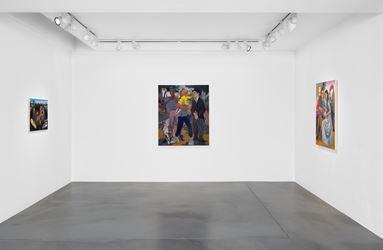 Exhibition view: Justin John Greene, Welcome to Our Mess, Simon Lee Gallery, London (4–28 September 2018). Courtesy Simon Lee Gallery.