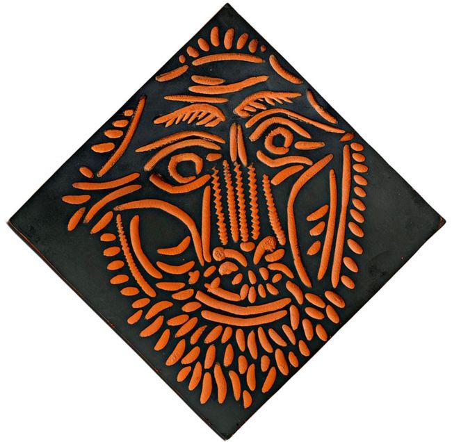 Tête de lion by Pablo Picasso contemporary artwork
