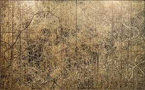 Connectifs 2D by Nicolas Baier contemporary artwork