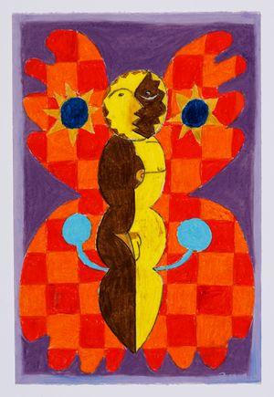 Untitled (moth) #29 by Brendan Huntley contemporary artwork