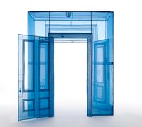 Main Entrance, 388 Benefit Street, Providence, RI 02903, USA by Do Ho Suh contemporary artwork sculpture