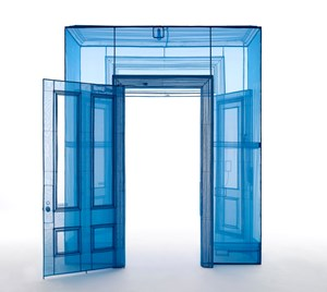 Main Entrance, 388 Benefit Street, Providence, RI 02903, USA by Do Ho Suh contemporary artwork