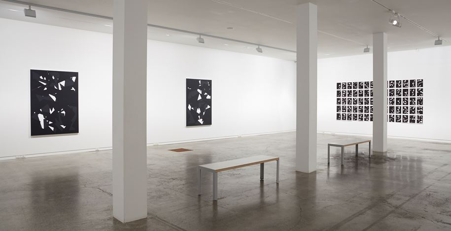 Exhibition view: Jeena Shin,Movement Image Time, Two Rooms, Auckland (27 October–25 November 2017). Courtesy Two Rooms.