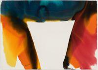 Phenomena Tibetan Drum by Paul Jenkins contemporary artwork painting