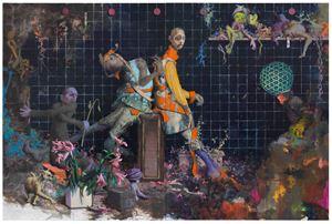 Glimpflinge by Jonas Burgert contemporary artwork
