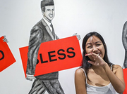Malaysian artist offers a cutting commentary on religion and society