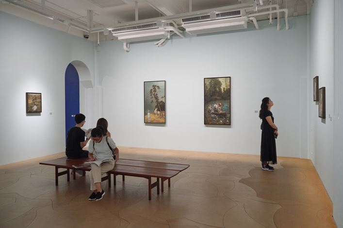 Exhibition view: Wei Dong, Wei Dong: The Crossroads 《魏東:十字坡》, Hanart TZ Gallery, Hong Kong (27 September–2 November 2019). Courtesy Hanart TZ Gallery. Photo: Kitmin Lee.