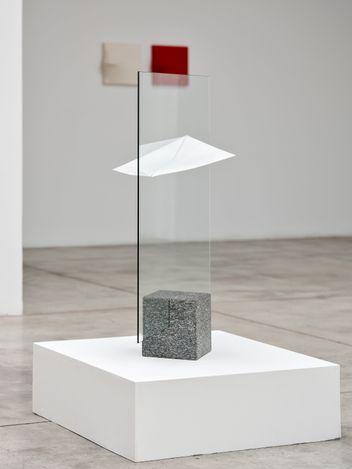 Exhibition view: Agostino Bonalumi,Small Gems, Cardi Gallery, Milan (25 May–6 August 2021). Courtesy Cardi Gallery.Photo credit: Carlo Vannini