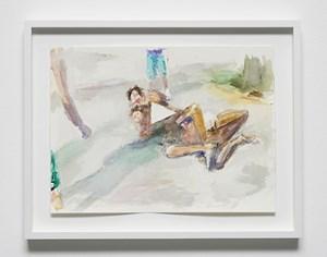 Dans la rue, 4 by John Kelsey contemporary artwork