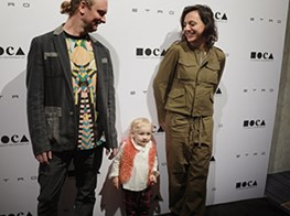 Lillian Lovelace and Tala Madani Honored at MOCA (pictures)