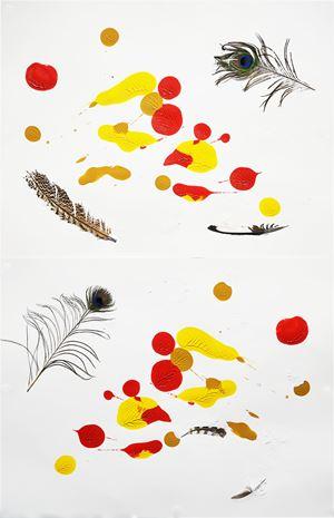 A Nearly Still Thing by Jane McAdam Freud contemporary artwork