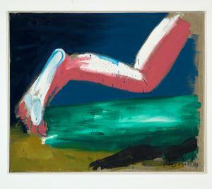 Flucht by Karl Horst Hödicke contemporary artwork