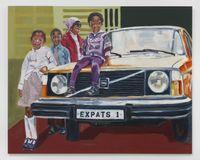 The Expats by Wangari Mathenge contemporary artwork painting