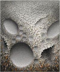 Aggregation 08 - F001 聚合 08-F001 by Chun Kwang Young contemporary artwork mixed media