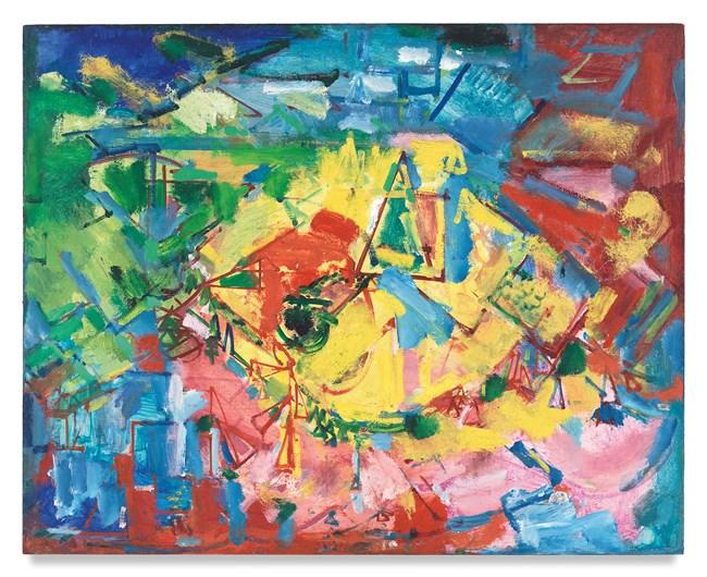 [Landscape] by Hans Hofmann contemporary artwork