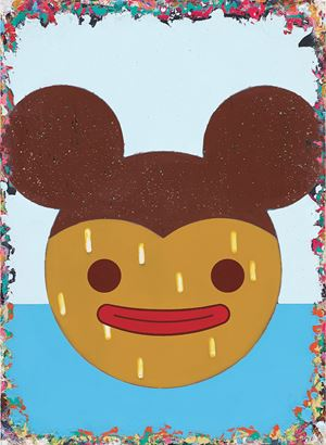The Fake Mickey Smiling in a Cold Sweat by Lai Chiu-Chen contemporary artwork