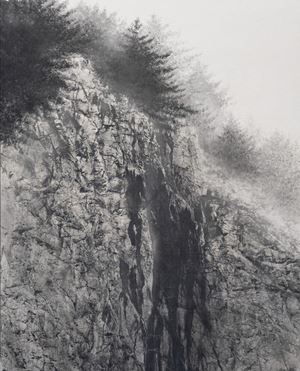 Cliff by Hiroshi Senju contemporary artwork