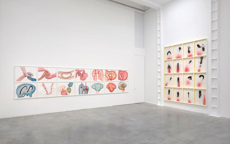 Exhibition view: Jorinde Voigt, Both Sides Now, Lisson Gallery, London (19 May–24 June 2017). Courtesy Lisson Gallery, London.