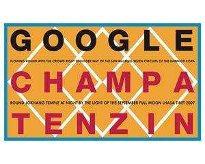 Google Champa Tenzin. Tibet 2007 by Hamish Fulton contemporary artwork