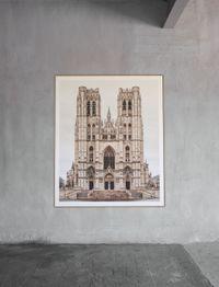 Bruxelles, Sint-Michiels en Sint-Goedelekathedraal by Markus Brunetti contemporary artwork photography