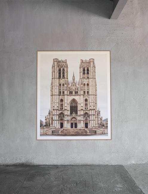 Bruxelles, Sint-Michiels en Sint-Goedelekathedraal by Markus Brunetti contemporary artwork