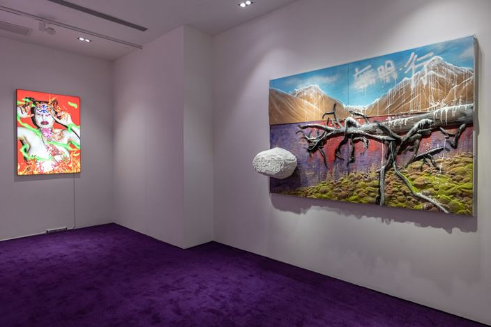 Exhibition view: Chen Tianzhuo, Recollection Pierces the Heart, Tang Contemporary Art, Hong Kong (20 August–27 September 2020). Courtesy Tang Contemporary Art, Hong Kong.