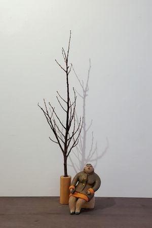 A Dress For All Seasons: Winter by Rosanna Li Wei-Han contemporary artwork sculpture