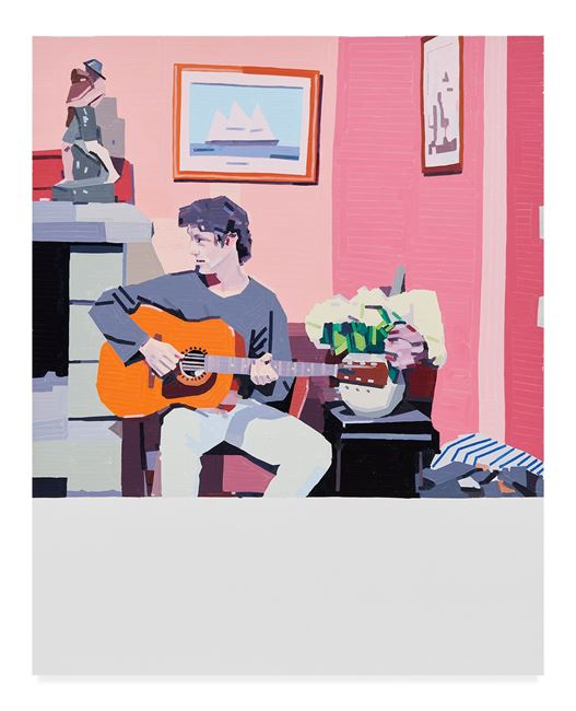 Gaspard At Solene's Uncle by Guy Yanai contemporary artwork