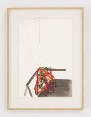 Untitled (Layson a Stick) by Al Taylor contemporary artwork
