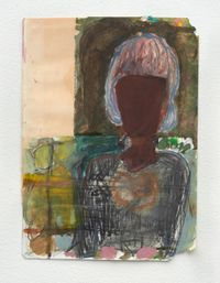 From an old book by Lorna Robertson contemporary artwork painting, works on paper, drawing