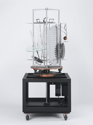 Light Prop for an Electric Stage by László Moholy-Nagy contemporary artwork