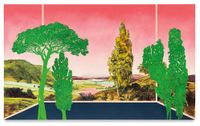 Veduta (Friedrich Summer) by Whitney Bedford contemporary artwork painting