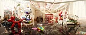 Seismic Shift by David LaChapelle contemporary artwork