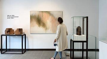 Contemporary art exhibition, Zóbel-Chillida, Crisscrossing Paths at Galeria Mayoral, Paris