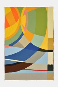 Zusammen/Allein III by Ulla Von Brandenburg contemporary artwork textile