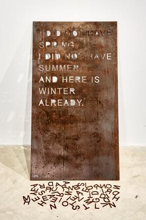 Coma Manifesto 02 by mounir fatmi contemporary artwork