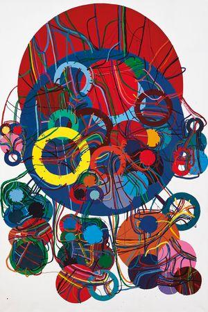 83E by Atsuko Tanaka contemporary artwork