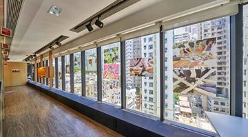 Contemporary art exhibition, Curated by John Tain, Crafting Communities at Asia Art Archive, Hong Kong