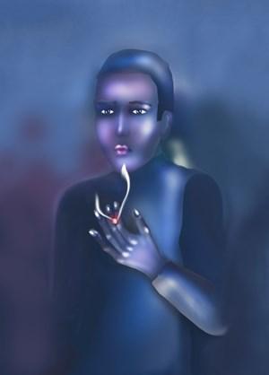 Exhale by Louisa Gagliardi contemporary artwork