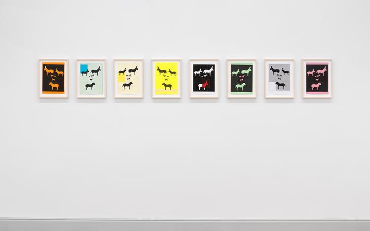 Exhibition view: Valentin Carron, Un Ami Simple, Galerie Eva Presenhuber, Rämistrasse, Zurich (14 November–12 December 2020). Courtesy the artist and Galerie Eva Presenhuber, Zurich / New York. Photo: Stefan Altenburger Photography, Zurich.