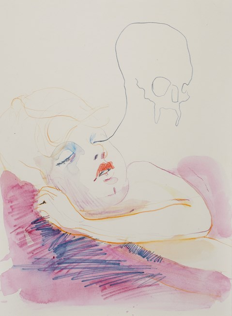 Bad dream by Ben Quilty contemporary artwork