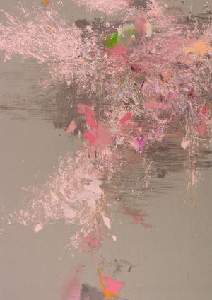 Omus Kathara, (EINE TASSE IM GARTEN VON MONET) by Michael Müller contemporary artwork