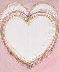 Heart No.1 by Kumi Usui contemporary artwork painting