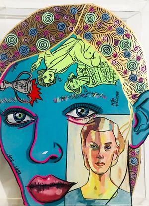 Olivia Spencer Bower by Sam Mitchell contemporary artwork