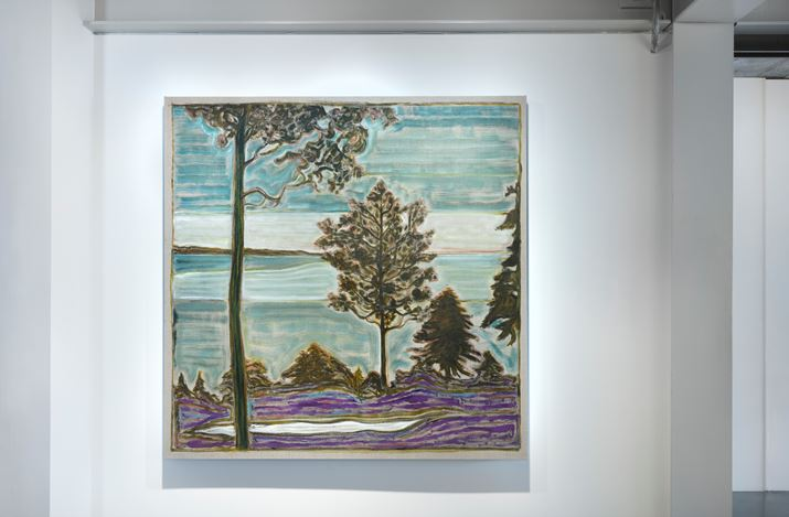 Exhibition view: Billy Childish, wolves, sunsets and the self, Lehmann Maupin, Seoul (23 April–27 June 2020). Courtesy the artist and Lehmann Maupin, New York, Hong Kong, and Seoul.Photo: OnArt Studio.