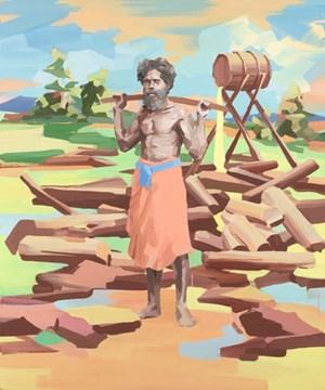 Australian II by Stefan Dunlop contemporary artwork
