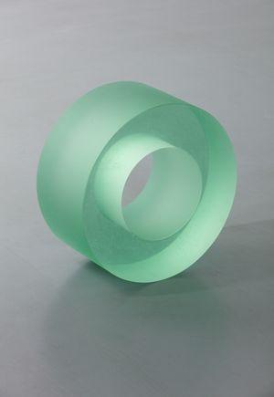 Water Glass Roll (110) by Ann Veronica Janssens contemporary artwork