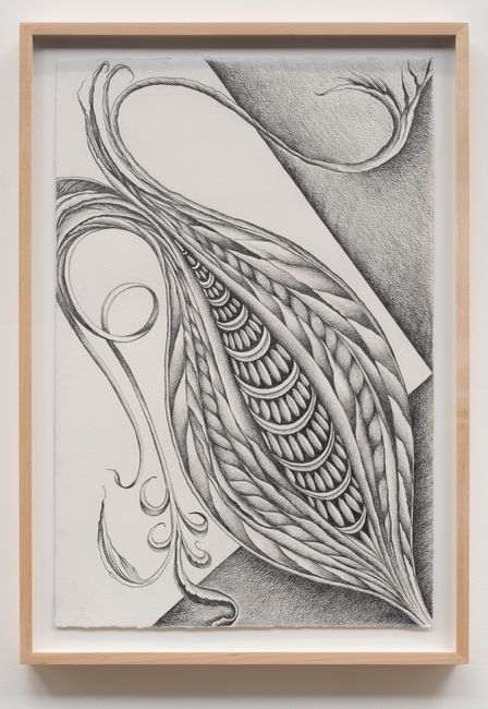 Fossil #9 by Faith Wilding contemporary artwork